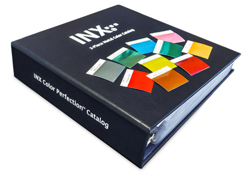 INX Metal Color Catalog